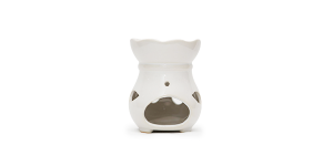 Ceramic Burner - Drop Design (White)