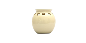 Ceramic Burner - Round Design (Beige)