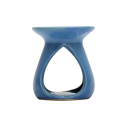 Ceramic Burner - Teardrop Design (Blue)