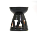 Ceramic Burner - Triangle Design (Black)