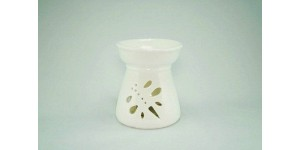 Porcelain Burner- Dragonfly (White)