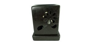 Electric Ceramic Burner Square (Black)