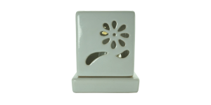 Electric Ceramic Square Burner (White)