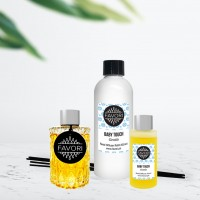 50ml Regular Reed Diffuser + 150ml Premium Reed Diffuser + 200ml Refill Reed Diffuser (from the Refreshing, Relaxing, Sexy or Upbeat Aroma Collections)