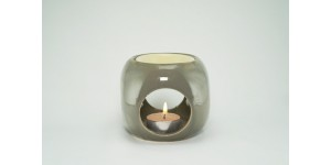 Ceramic Burner - Dice Design (Gray)