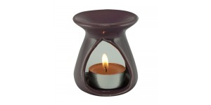 Ceramic Burner - Teardrop Design (Violet)
